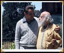 Stan with Fritz Perls at the Esalen Institute in Big Sur, CA